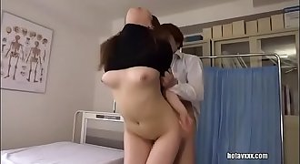 asian doctor gets creampied
