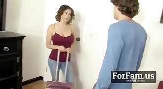 Sharing a Hotel Room With Naughty MOM! - FREE Mom Videos at ForFam.us