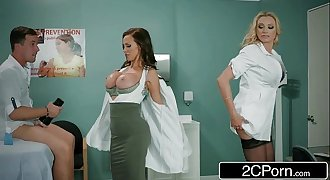 Dick Stuck In Fleshlight - Doctors Briana Banks & Nikki Benz Give Hand