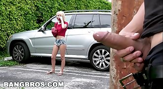 BANGBROS - Stalking Teen Kenzie Reeves and Providing Her Some Rough Lovemaking