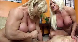 Naked Female Bodybuilders Hook-up Up Lucky Dude