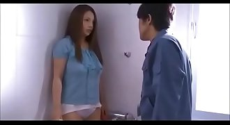 Newly married housewife fucked by worker while spouse is away - Teaser