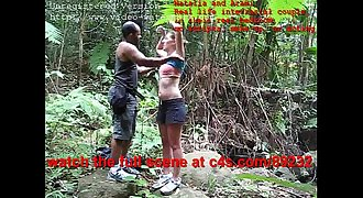 Jungle Fever PART 1 Natalia and Arami - real interracial couple porn  clips 4 sale(dot)com(slash)892